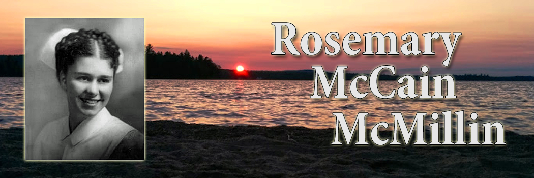Remembering Rosemary McCain McMillin
