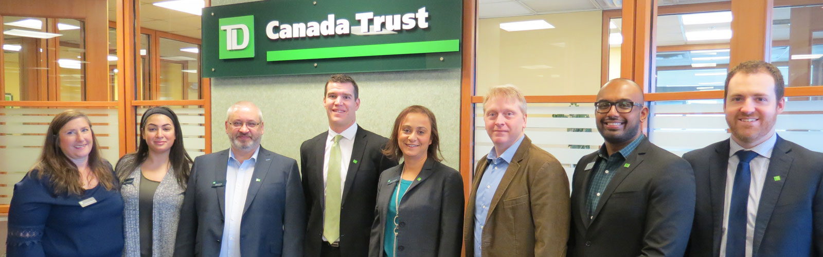 TD Canada Trust supports youth at risk with a donation for Safe Harbour House