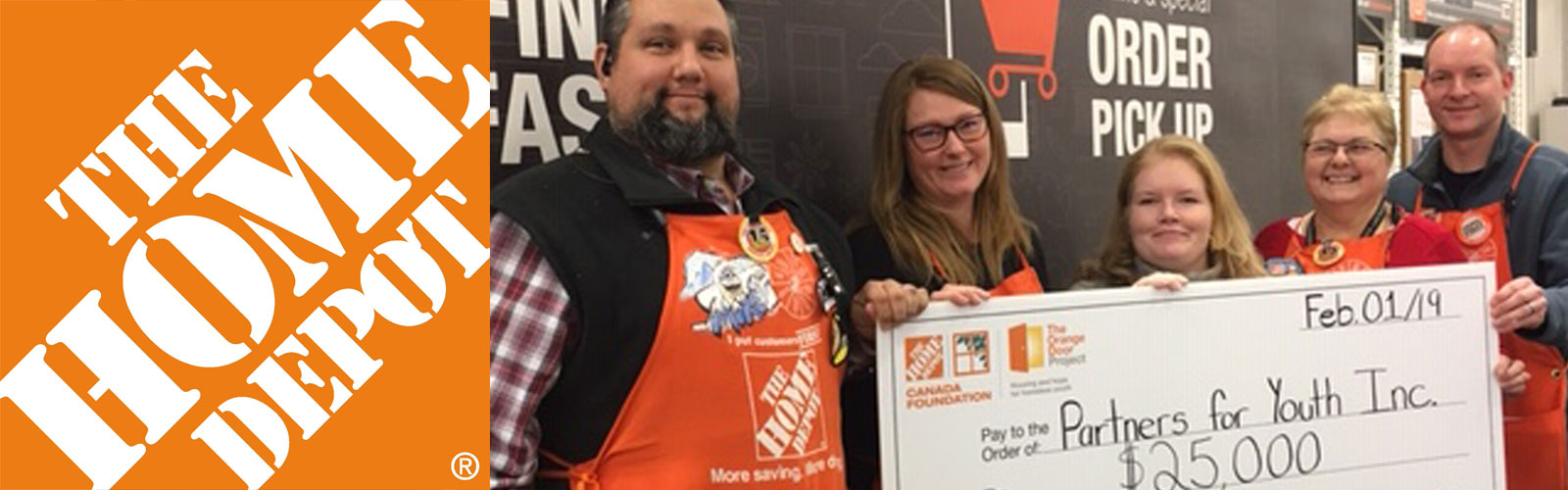 Home Depot helps support youth development programming