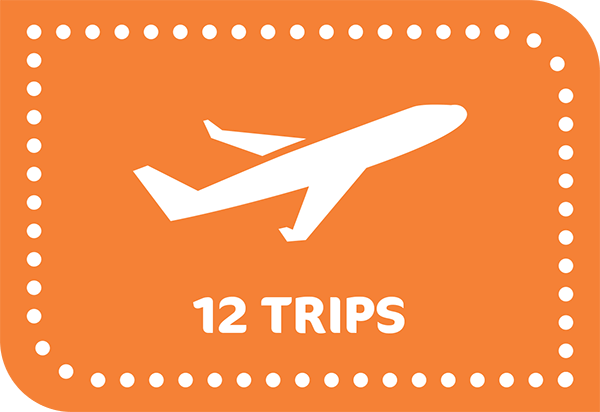 12 Trips in 12 Months