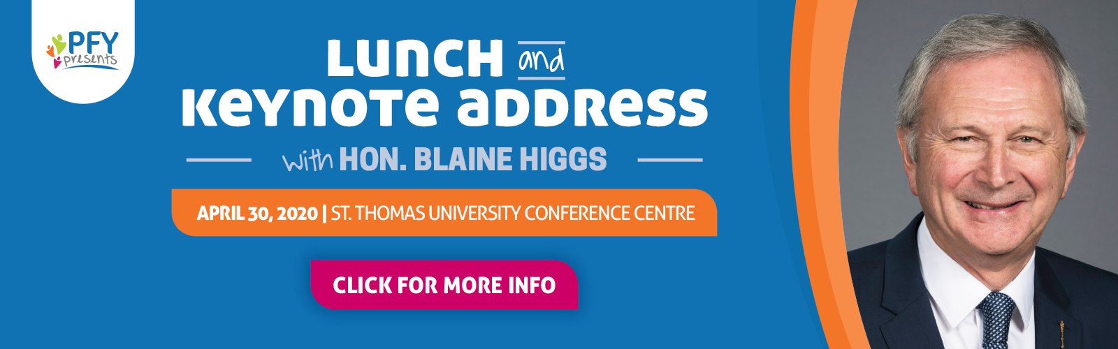 Lunch and Keynote Address with Hon. Blaine Higgs